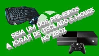 Teclado e mouse no Xbox One, como ser um dos primeiros a testar?