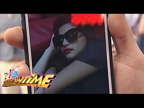 Anne Curtis slept on It's Showtime backstage