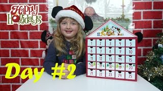Disney Surprise Toys Advent Calendar Day 2 Surprise Presents + Toy Opening The Disney Toy Collector
