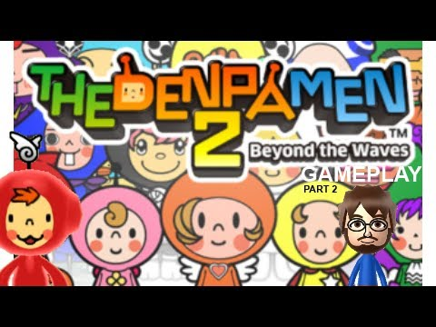 The Denpa Men 2 (3DS) Gameplay - Part 2