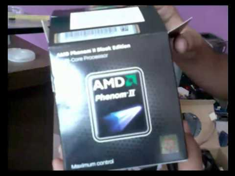 AMD PHENOM II X2 555 BLACK EDITION PROCESSOR - UNBOXING