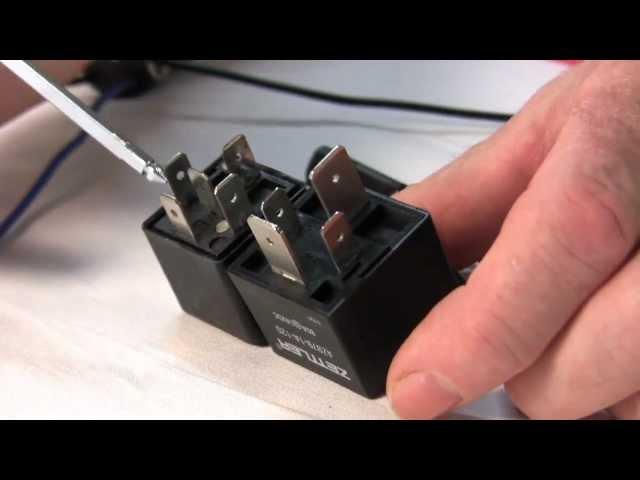 Electric Fan Connection Using Fan Relay Kit - YouTube