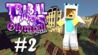 Tribal Wars: Olympus - Minecraft Gameshow - Episode 2 | Cobble Climbers!