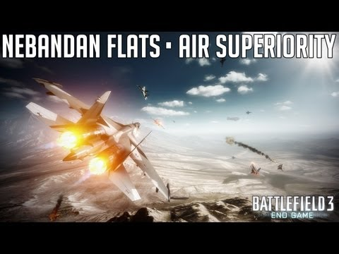 Battlefield 3 End Game (PC) - Nebandan Flats - Air Superiority
