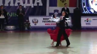 WDSF International Open Standart, Levin - Sivakova. Tango