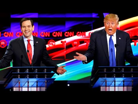 Donald Trump vs. Marco Rubio - Full Debate Highlights 2/25/2016