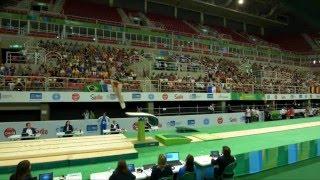 Rio de Janeiro - Test Event: Giorgia Campana / Volteggio (qualifiche)