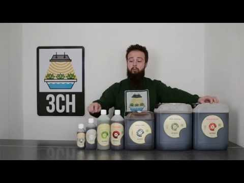 An introduction to BioBizz Nutrient Range by 3CH