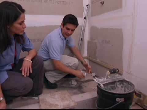 C mo remodelar el meson del ba o youtube for Como remodelar mi casa