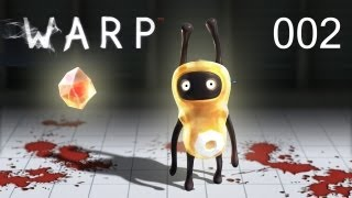 Let's Play Warp #002 - Challenge in Blut [720p] [deutsch]