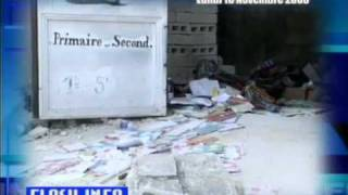 School Collapse Haiti Flash Info Nov 10 2008