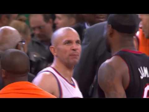 "Jason Kidd to Lebron: ""Tell your mom I said hi."""