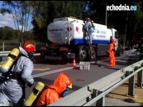 Ćwiczenia Straży Pożarnej W Radomiu