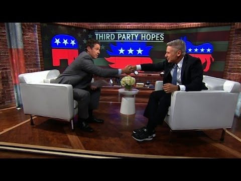 Gary Johnson: Why you should vote Libertarian (Full CNN interview)