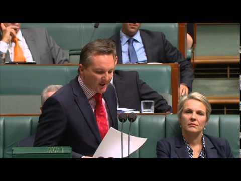 Chris speaks on Tony Abbott's Budget of Broken Promises
