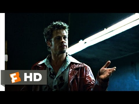 Fight Club (1/5) Movie CLIP - I Want You To Hit Me (1999) HD