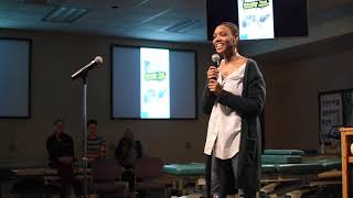 """Kyshari McCullough - """" Self-Preservation: My journey to Living Out Loud"""" 