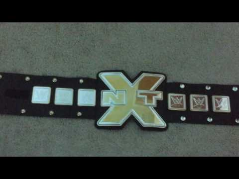 WWE NXT KIDS TOY BELT REVIEW