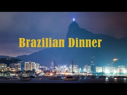 Brazilian Dinner - Samba, Bossa Nova, Background Music, Best Music from Brazil