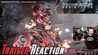 NEW Terminator Game! - Angry Trailer Reaction!