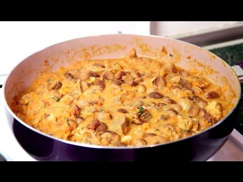 Фасоль с мясом рецепт - Очень вкусно