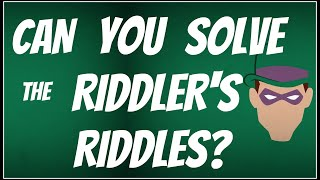 Download Lagu Can You Solve The Riddler's Riddles? Batman Quiz Gratis STAFABAND