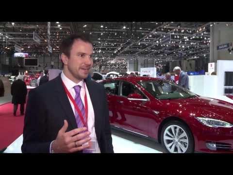 Geneva Auto Show 2014 - Interview with Jochen Rudat, Tesla | AutoMotoTV