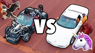 UNICORN C5 vs LEROY THE SAVAGE!