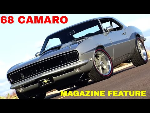1968 Camaro RELOADED In Hemmings Muscle Machines Magazine!