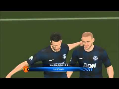 Olympiakos Piraeus vs Manchester United 2 0 2014 Goals Full Highlights 25 2 2014 Champions League