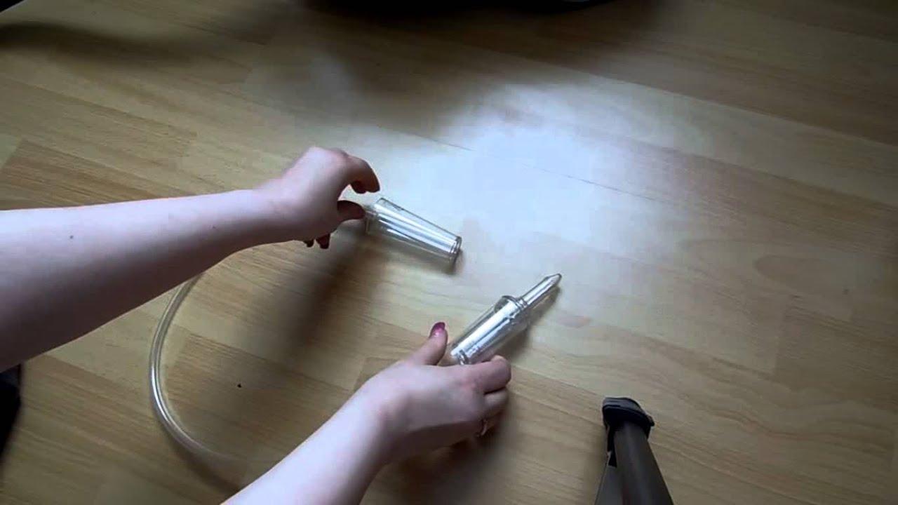 Nasenstaubsauger im Test - YouTube