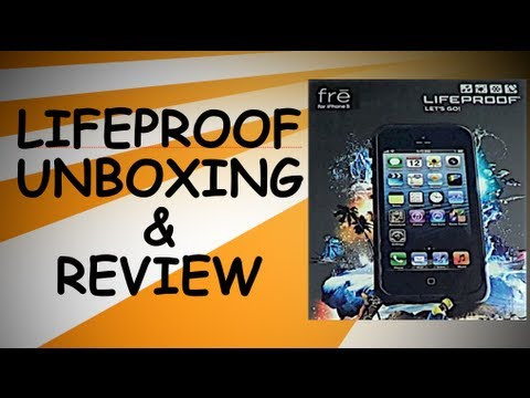 Life Proof Case Unboxing & Review  - iPhone 5 - Submerge Test