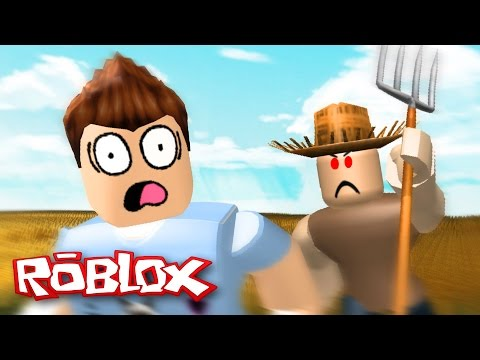 Roblox : FUJA DO FAZENDEIRO MALUCO !! ( Roblox Escape the Evil Farm )