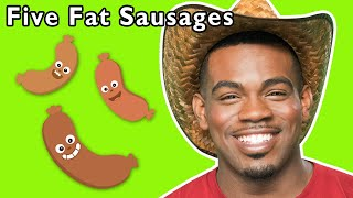 Five Fat Sausages and More | LEARN COUNTING GAMES | Nursery Rhymes from Mother Goose Club!