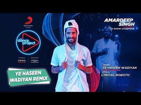 Ye Haseen Wadiyan - Remix   Amardeep Singh   Roja   The Dance Project