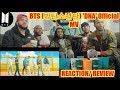 FIRST BTS (방탄소년단) 'DNA' Official MV REACTIONREVIEW