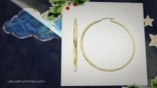 14k Gold Hoop Ear rings