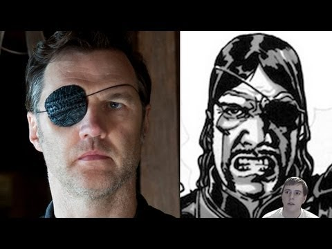The Walking Dead - The Governor TV Series vs The Governor CB Series!