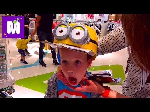 Шопинг Игрушки в Китайских магазинах Гонконг купили много игрушек и прикольные конфеты