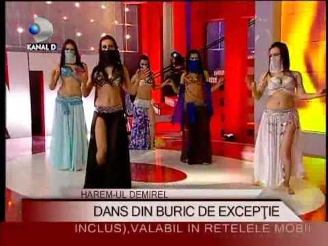 """Haremul Demirel, un """"dans din buric"""" la """"Palatul"""" Kanal D :D"""
