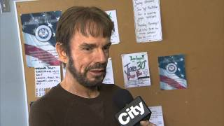 Raw video: Billy Bob Thornton on role in 'Fargo'