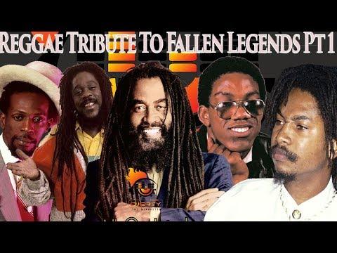 Reggae Tribute To Fallen Legends Pttt Silk,Gregory Isaccs,Frankie Paul,Dennis Brown,John Holt
