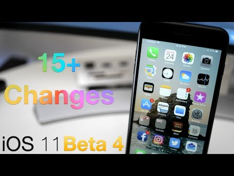 iOS 11 Beta 4 - What's New?