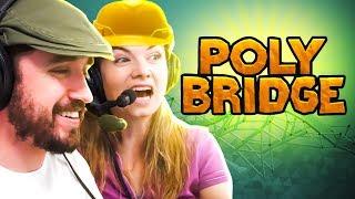 PONTES TAMBÉM SÃO OBRAS DE ARTE! - Poly Bridge