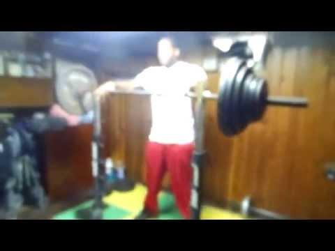 Proudly Sponsored By: JACO 390 pound raw squat