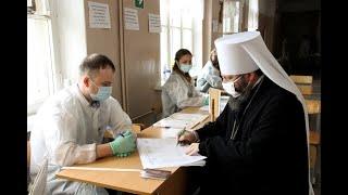 Митрополит Исидор принял участие в голосовании по поправкам к Конституции РФ