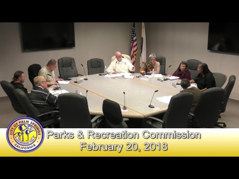 Parks & Recreation Commission | February 20, 2018