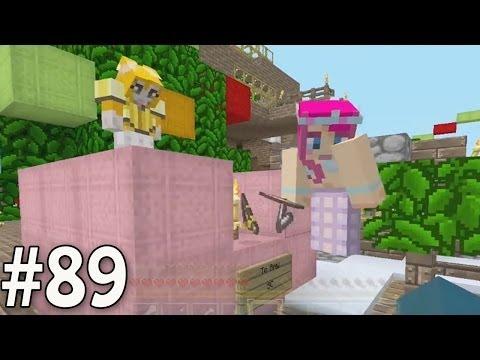 Minecraft Xbox - Sky Island Challenge - Slippery Christmas Special!! [89]