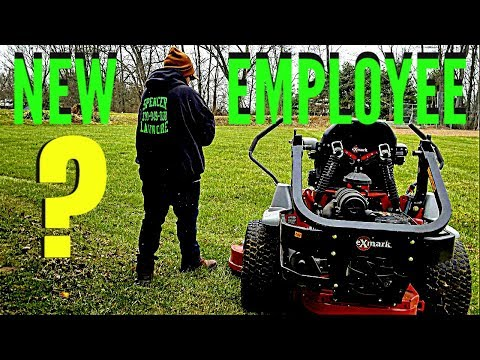 2018 Lawn Care Season Kickoff [EMPLOYEE HIRED]