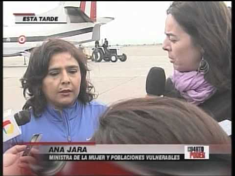 Ministra de la Mujer y Primera Dama recibieron a menores rescatados de manos de Sendero Luminoso